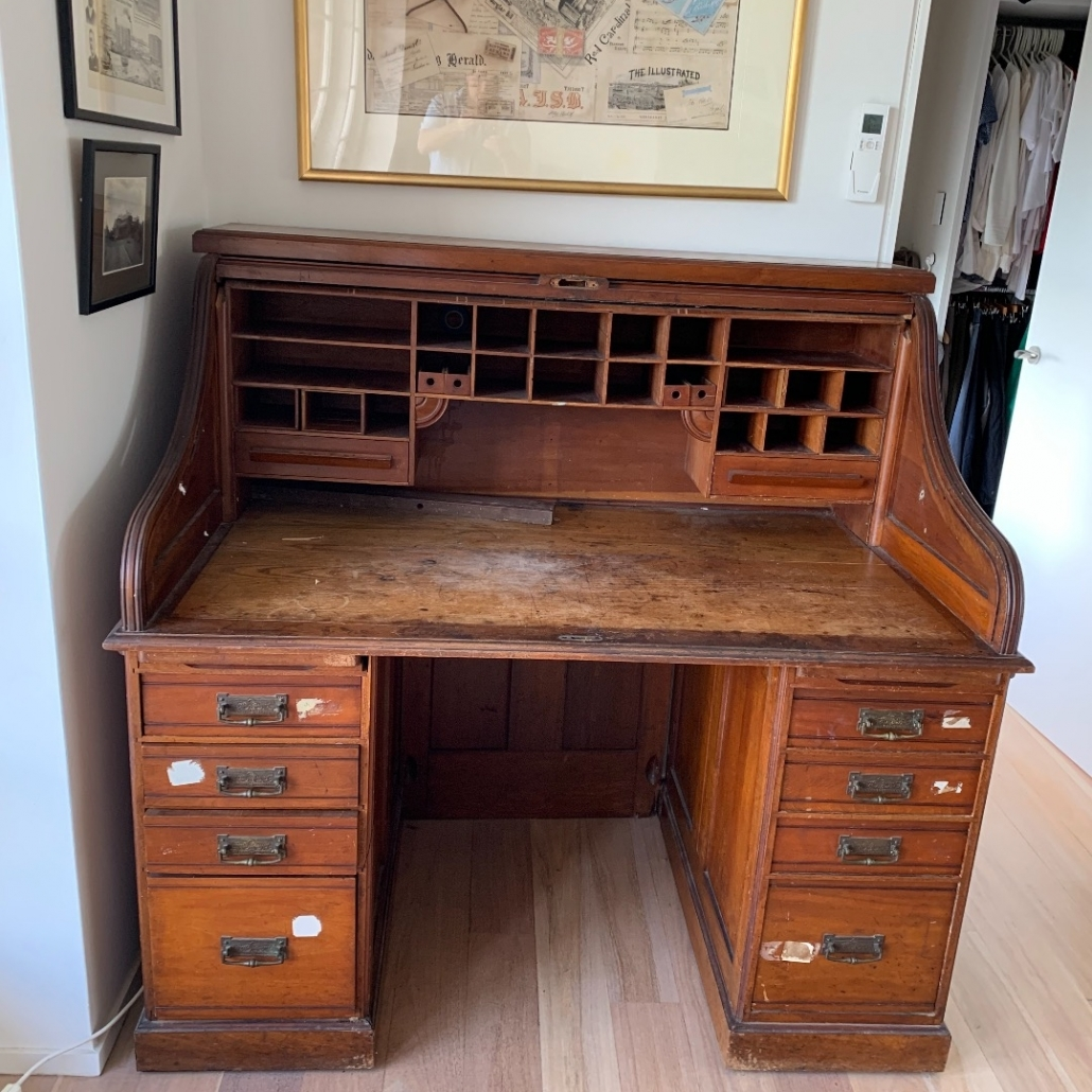 Before Roller Desk