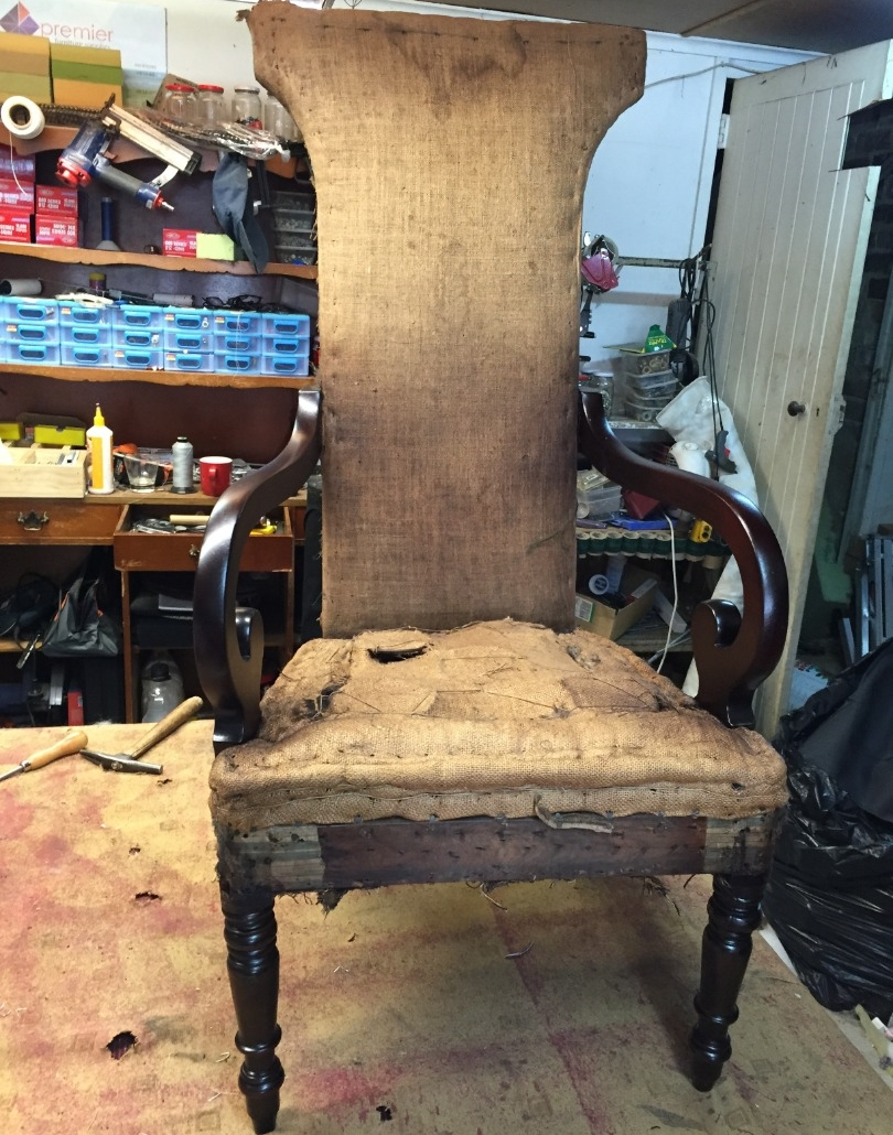 Restoration of Antique Chair